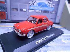 RENAULT Dauphine 1969 hell rot red IXO Altaya Atlas Sonderpreis 1:43