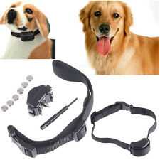 Rechargeable Vibra Anti Bark Dog Collar Stop Barking Safe Pet Control Trainer