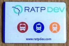 RATP DEV bus train fridge magnet