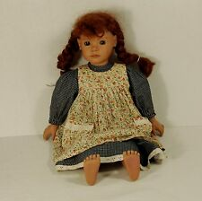 "Maggie Faithful Friend 19"" Heidi Ott Doll  w/ Dress & Apron"