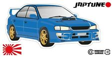 Subaru WRX Impreza  V1 - Blue with Factory Gold Rims - JDM - JapTune Brand