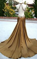 NWT JOVANI 17450 OLIVE $400 Prom Formal Evening Gown 8