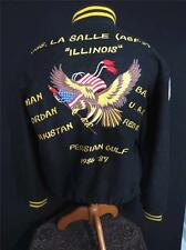 VERY RARE COLLECTIBLE VINTAGE 1986-1987 6TH FLEET EMBROIDERED JACKET SIZE LARGE