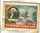 1930s Alka Seltzer booklet- Our Presidents