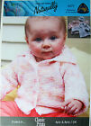 CUTE CARDIGAN PREEMIE TO 18 MOS by NATURALLY NZ YARNS - KNITTING PATTERN LEAFLET