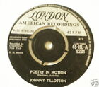 UK LONDON w/ Center Johnny Tillotson London 9231 Poetry