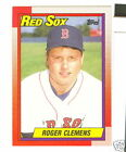 1990 TOPPS ROGER CLEMENS #245 * Boston Red Sox pitcher