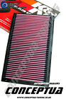 Uprated K&N Panel Air Filter-For R33 Skyline GTS-T RB25DET
