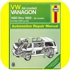 Repair Manual Book VW Vanagon Van Bus Volkswagen 80-83
