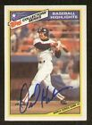 Dave Henderson signed autographed Topps Trading Card