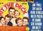Title Card 1955 HIT THE DECK Jane Powell T Martin MGM