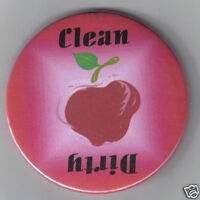 Red Apple - Clean/Dirty Dishwasher Magnet 2.25""