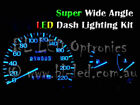 Blue 6-LED Dash Light For Nissan Skyline R32 & R33, 5pc