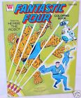 Whitman Marvel THE FANTASTIC FOUR A4 Coloring Comic Book Mint `79 RARE!