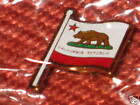 NEW SEALED CALIFORNIA STATE FLAG PIN FOR COLLECTION