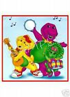BARNEY Baby Bop BJ Band T-Shirt Iron-On Decal Transfer