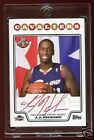 J.J. HICKSON 2008 TOPPS RC PREMIERE AUTOGRAPH RED INKS