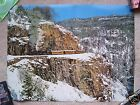 Durango & Silverton Steam Train in Winter Print Rails