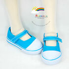 SD Dollfie Shoes Mary Jane Canvas Sneakers Lake Blue