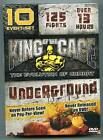 King of the Cage - Underground (DVD) 10 Events! 125 Fights! Evolution Of Combat!