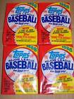 (4) 1988 TOPPS BASEBALL UNOPENED WAX PACKS MINT L@@K!!!