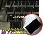 DVORAK SIMPLIFIED NONTRANSPARENT KEYBOARD STICKER BLACK