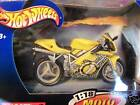 DUCATI yellow 996 SPORT BIKE motorcycle DIE CAST NEW