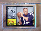 Johnny Unitas 1962 Colts Topps #1