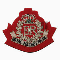 Official Royal Military Police RMP Officers Cap Badge