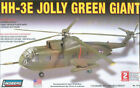 LINDBERG 1/72 HH-3E JOLLY GREEN GIANT HELICOPTER MODEL