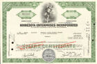 Minnesota Enterprises MEI now Pepsi stock certificate