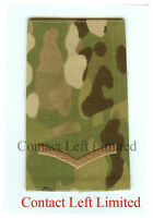 Pair Official Multicam MTP Lance Corporal RANK SLIDES