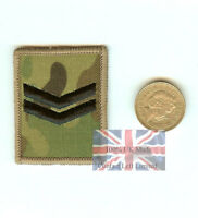 New Crye Multicam MTP Corporal Velcro Ubacs RANK Patch