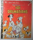 DISNEY 101 Dalmatians Dog 1991 Golden Book NWT New