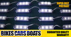 2 X 12V 4M BOAT FISHING LED LIGHT WHITE WPROOF CAMPING 4 metres