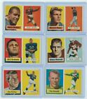 1957 Topps Football #62 Johnny Olszewski ExMt CARDINALS