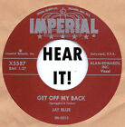 Rockabilly Repro: JAY BLUE-Get Off My Back IMPERIAL