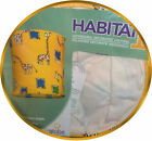 LAMP SHADE Fabric Pendant Yellow Spotted GIRAFFE Jungle Baby Safari Free Ship +2