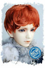 "8-9"" Carrot Synthetic Mohair 1/3 BJD Doll SD Short Wig"