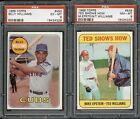 1969 Topps TED SHOWS HOW Ted Williams #539 PSA 8