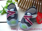 New XST Boys Blue Soft Rubber Sole Sneaker Baby Shoes