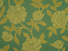 Large Woven Floral Upholstery Drapery Fabric
