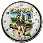 Wehrmacht sexy German defense force military clock