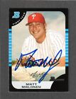 2005 BOWMAN BDP 73 Matt Maloney PHILADELPHIA PHILLIES SIGNED AUTOGRAPH AUTO COA