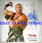 TNA WWE Rob Van Dam RVD SIGNED 8x10 PROMO P-93 PHOTO