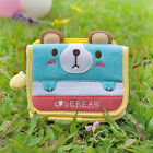[Love Bear] Embroidered Applique Fabric Art Trifold