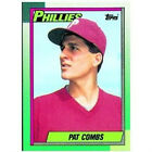 Pat Combs Philadelphia Phillies P Record 1990 Topps 384
