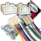 ECLIPSE 10/6 PIN WIRE HARNESS POWER PLUG CD MP3 TAPE TV