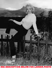 MARILYN MONROE AT ROCKIES ON A FENCE 1xRARE8x10 PHOTO