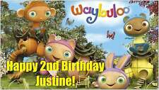 NOW $29.95!! Custom Vinyl Waybuloo Birthday Party Banner Decorations